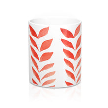 Load image into Gallery viewer, Mug Red Leaves 11oz