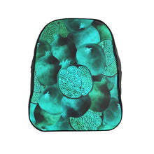 Load image into Gallery viewer, School Backpack Green Garnet
