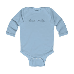 Infant Long Sleeve Bodysuit With Fish