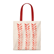 Load image into Gallery viewer, Tote Vintage Bag Red Leaves