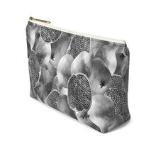 Load image into Gallery viewer, Accessory Pouch w T-bottom Grey Garnet