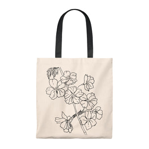 Tote Vintage  Bag Cherry Branch