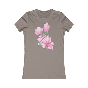 Women's Slim Fit Tee Magnolia