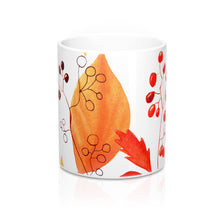 Load image into Gallery viewer, Mug Autumn Leaves and Branches 11oz