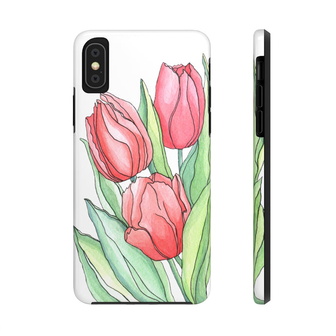 Case Mate Tough Phone Cases Tulips