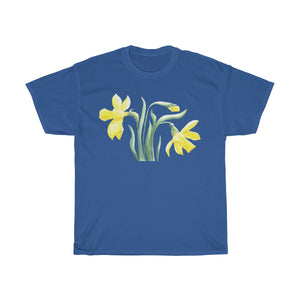 Women's Heavy Cotton Tee Narcissus