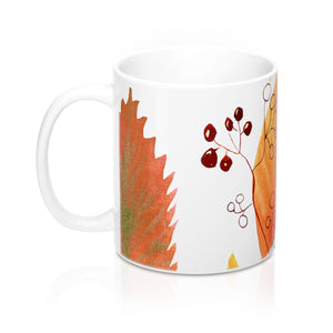 Mug Autumn Leaves and Branches 11oz