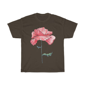 Women's Heavy Cotton Tee Poppy