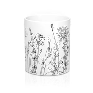 Mug Wildflowers 11oz