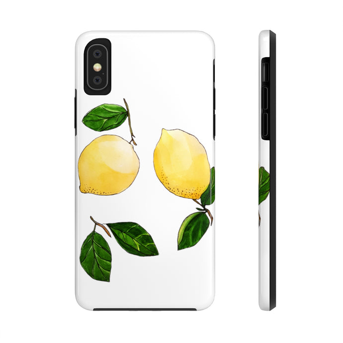 Case Mate Tough Phone Cases Lemons