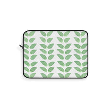 Load image into Gallery viewer, Laptop Sleeve Green Leaves