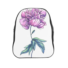 Load image into Gallery viewer, School Backpack Peony