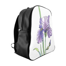 Load image into Gallery viewer, School Backpack Iris