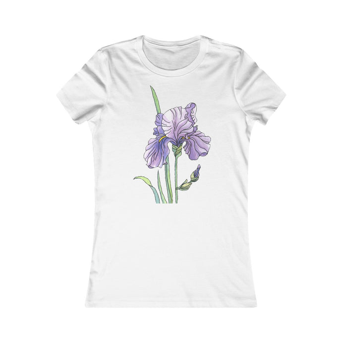 Women's Slim Fit Tee Iris