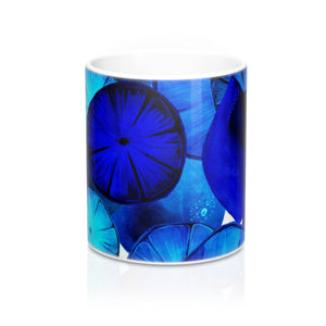 Mug Blue Citrus 11oz
