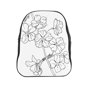 School Backpack Cherry Branch