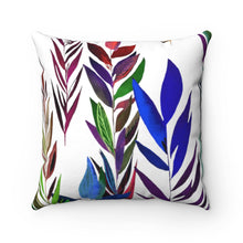 Load image into Gallery viewer, Spun Polyester Square Pillow Dark Branches