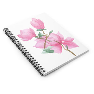 Spiral Notebook Ruled Line Magnolia