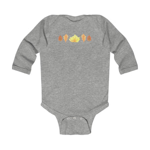 Infant Long Sleeve Bodysuit Autumn Leaves