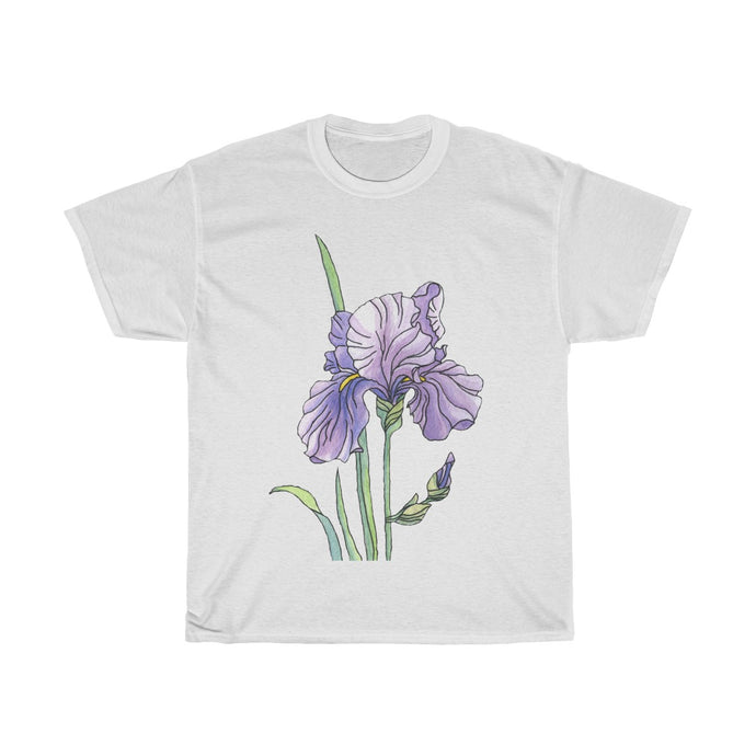 Women's Heavy Cotton Tee Iris