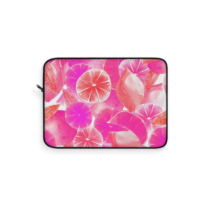 Laptop Sleeve Pink Citrus