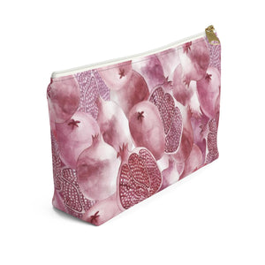 Accessory Pouch w T-bottom Garnet