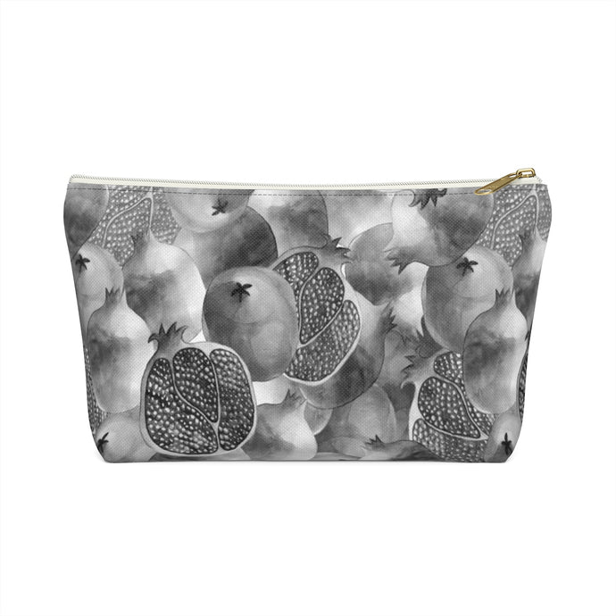 Accessory Pouch w T-bottom Grey Garnet