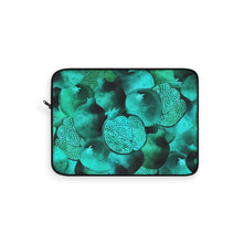 Load image into Gallery viewer, Laptop Sleeve Green Garnet