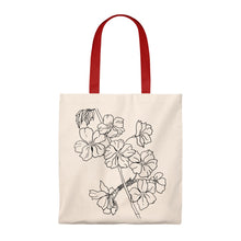 Load image into Gallery viewer, Tote Vintage  Bag Cherry Branch