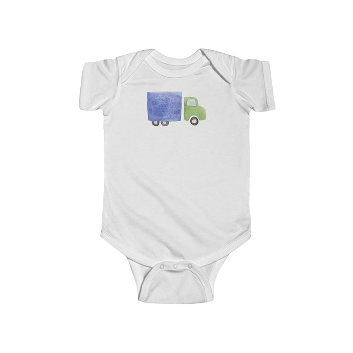 Infant Fine Jersey Bodysuit Truck