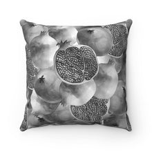 Load image into Gallery viewer, Spun Polyester Square Pillow Grey Garnet