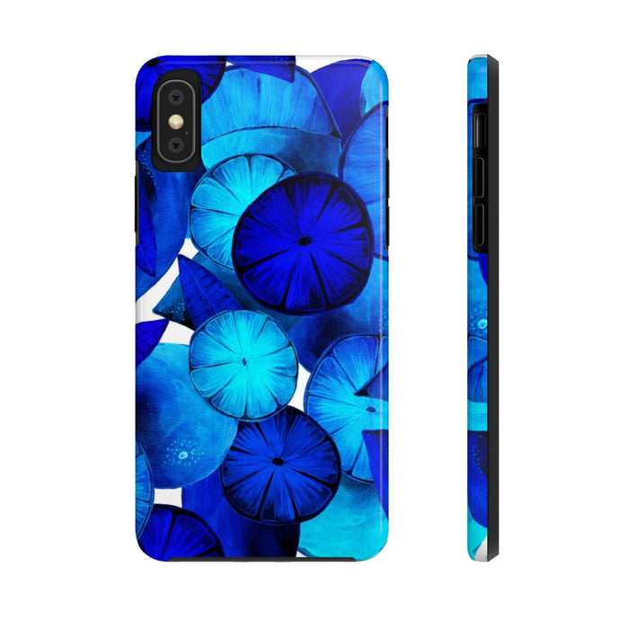 Case Mate Tough Phone Cases Blue Citrus