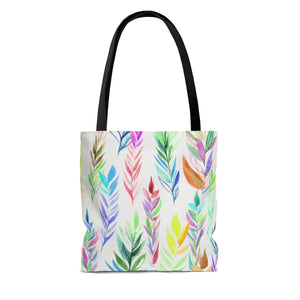 Tote Bag Colorful Branches