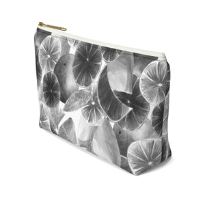 Accessory Pouch w T-bottom Grey Citrus