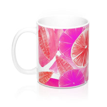 Load image into Gallery viewer, Mug Pink Citrus 11oz