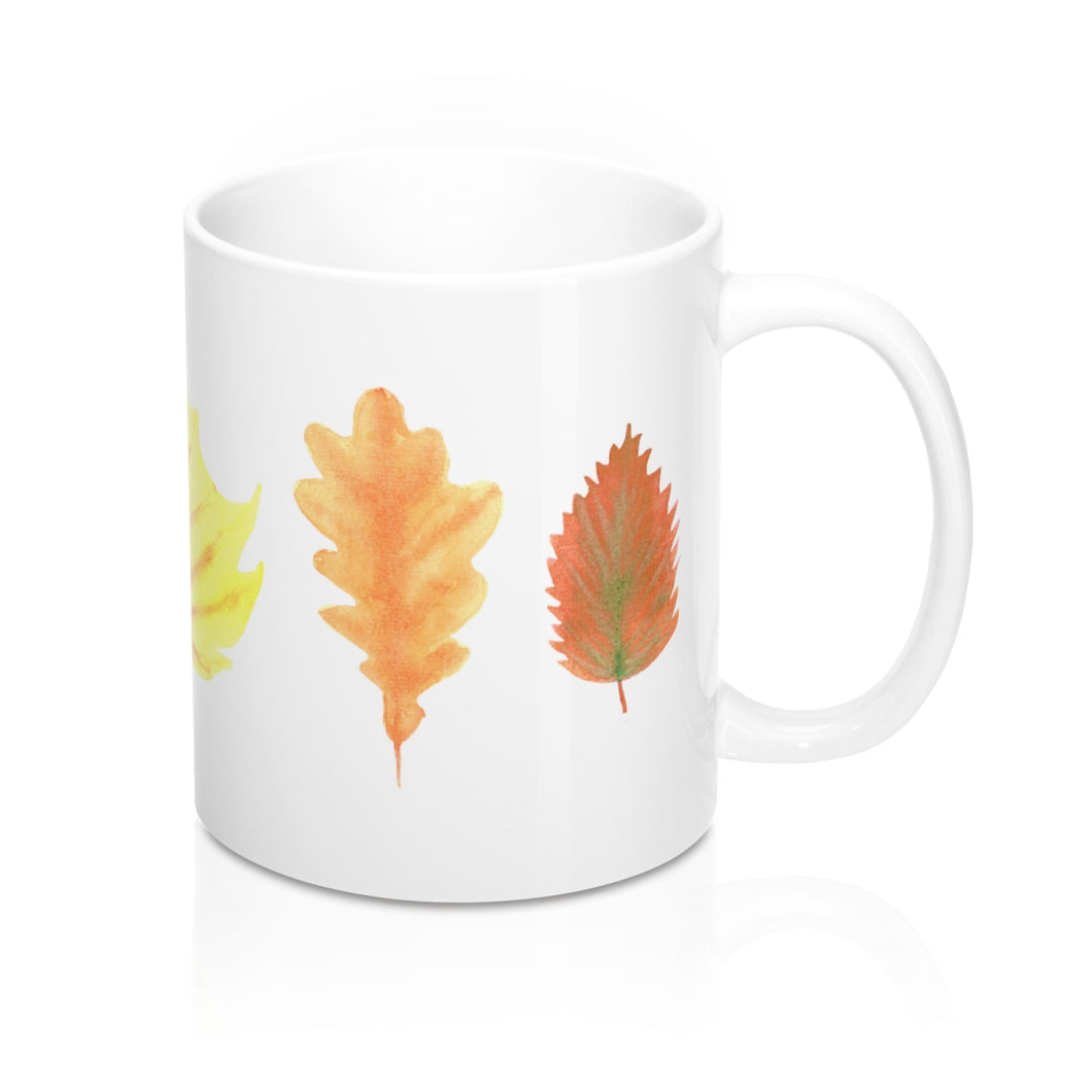 Mug Autumn Leaves Set 11oz