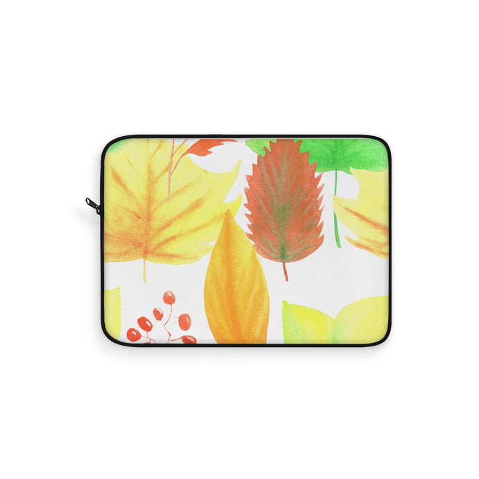 Laptop Sleeve Autumn Leaves