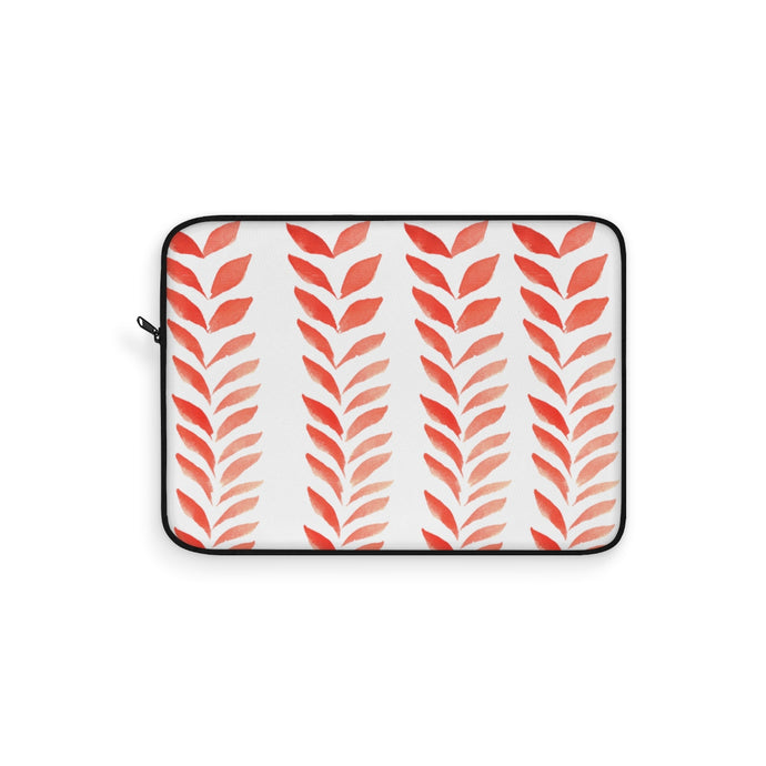 Laptop Sleeve Red Leaves
