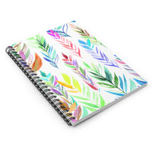 Load image into Gallery viewer, Spiral Notebook Ruled Line Colorful Branches