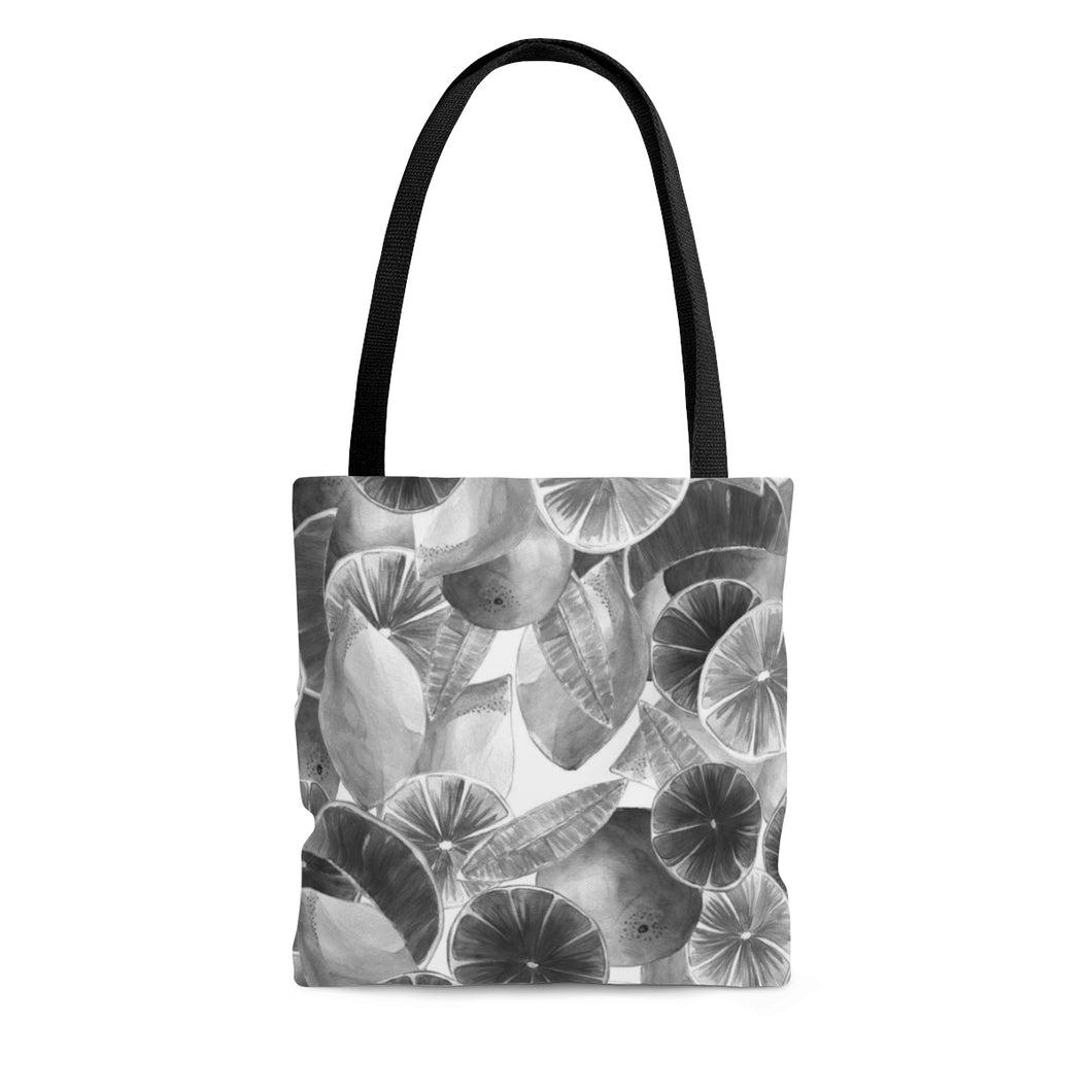 Tote Bag Grey Citrus