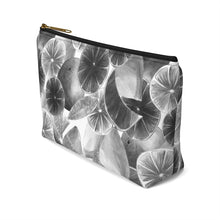 Load image into Gallery viewer, Accessory Pouch w T-bottom Grey Citrus