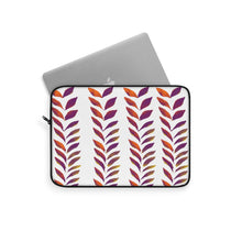 Load image into Gallery viewer, Laptop Sleeve Purple Leaves