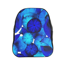 Load image into Gallery viewer, School Backpack Blue Citrus