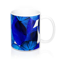 Load image into Gallery viewer, Mug Blue Citrus 11oz