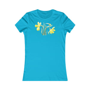Women's Slim Fit Tee Narcissus