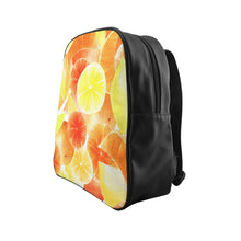 Load image into Gallery viewer, School Backpack Citrus