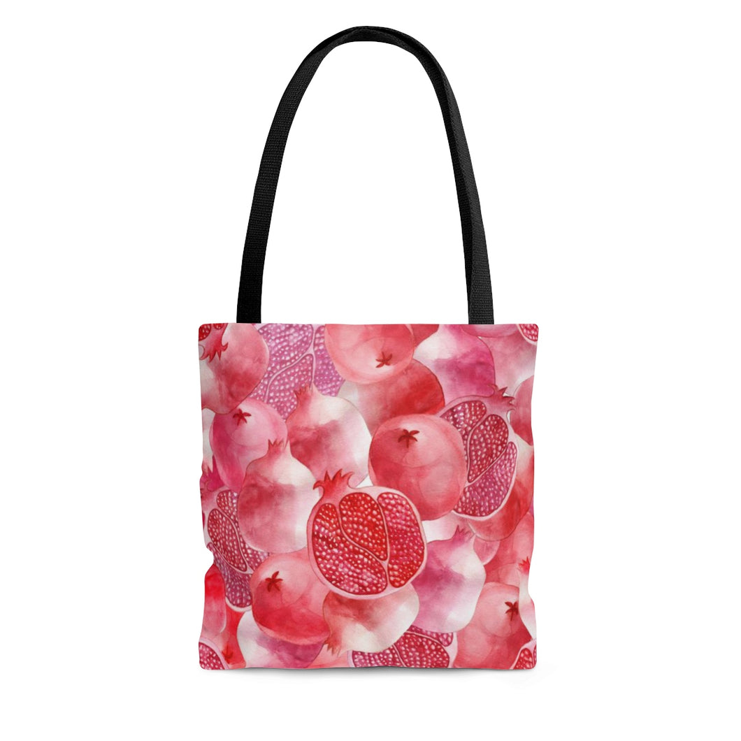 Tote Bag Red Garnet