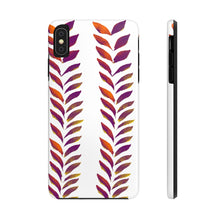 Load image into Gallery viewer, Case Mate Tough Phone Cases Purple Leaves