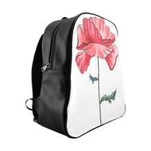 Load image into Gallery viewer, School Backpack Poppy