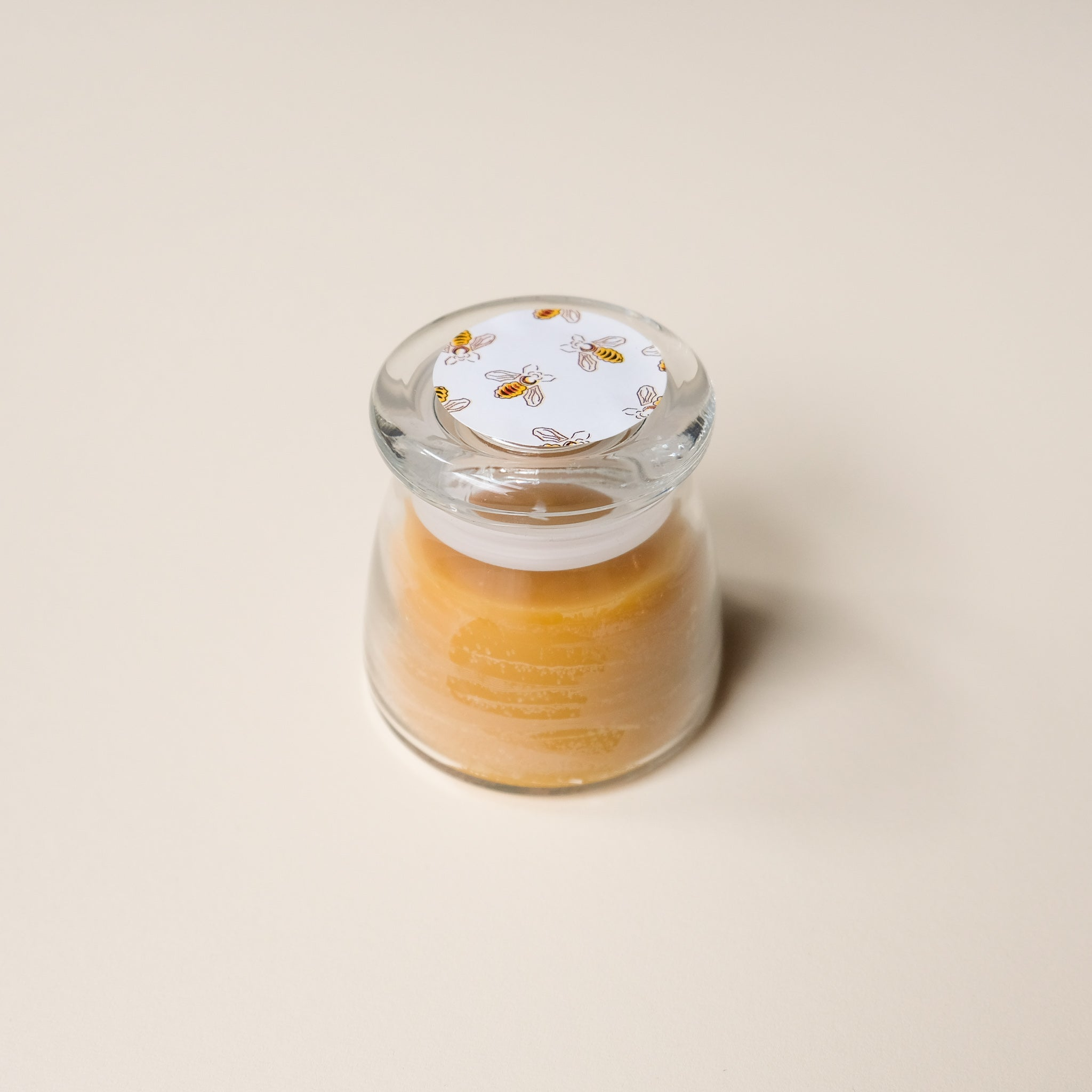 Beeswax Honey Pot Candle